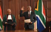 ANC deputy president David Mabuza is sworn in as a Member of Parliament in Pretoria on 28 May 2019. Picture: @ANCParliament/Twitter