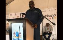 Gauteng Premier David Makhura says that it is totally unacceptable that Hammanskraal residents are forced to drink contaminated water. Picture: Pelane Phakgadi/EWN