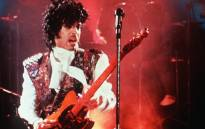 FILE: Photo of American singer Prince taken in February 1985 on stage in Paris. Picture: AFP
