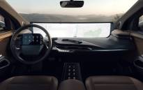 Byton dashboard video screen. Picture: BYTONcars/Facebook
