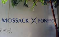 A sign outside the building where Panama-based Mossack Fonseca law firm offices are placed in Panama City on 3 April 2016. Picture: AFP.