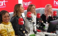 A screengrab shows members of the Spice Girls during an interview for Heart Radio.