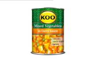 Tiger Brands is recalling certain KOO, Hugo's and Helderberg canned vegetable products produced from 1 May 2019 to 5 May 2021. Picture: Tiger Brands.