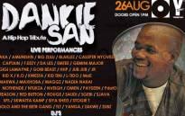 Dankie San Benefit Concert poster. Picture: @slikouronlife/Twitter.