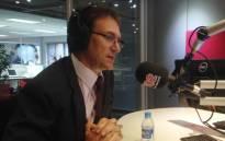 Anglo American Platinum SA CEO Chris Griffith in the Talk Radio 702 studio, 3 February 2014. Picture: Craig Wynn/EWN.