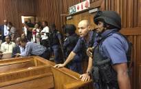 FILE: Security was extremely tight at the Johannesburg High Court when Radovan Krejcir appeared for sentencing. Picture: Vumani Mkhize/EWN.