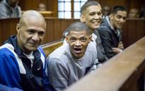 FILE: Members of the 28s gang in court on 4 May 2015. Picture: Thomas Holder/EWN.