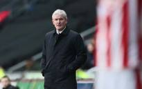 Mark Hughes. Picture: @stokecity/Twitter.