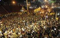 FILE: The Ayyappa temple in Sabarimala. Picture: AFP