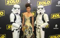 Thandie Newton at the premier of 'Solo' at the 2018 Cannes Film Festival. Picture: @thandienewton/Twitter