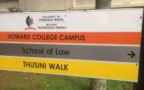 The University of KwaZulu-Natal Howard Campus. Picture: EWN.
