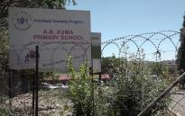 The AB Xuma Primary School in Orlando, Soweto, where more than 80 pupils were allegedly sexually assaulted by a scholar patrol guard. Picture: Louise McAuliffe/EWN