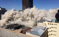 The Bank of Lisbon Building has been demolished after it was deemed structurally unfit following a 2018 fire which lasted three days and claimed the lives of three firefighters. Picture: Ahmed Kajee/EWN