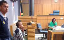 Murder accused Elmario Massdorp at the Blue Downs Magistrate Court, 16 October 2015. Picture: Shamiela Fisher/EWN.