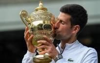 Wimbledon 2019 champion Novak Djokovic. Picture: @Wimbledon/Twitter