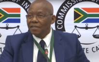 A screengrab of former SABC board chair Ben Ngubane giving evidence at the state capture inquiry on 9 September 2019.