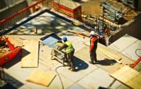 Construction workers, unemployment