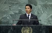 FILE: Madagascar's president Andry Rajoelina. Picture: United Nations Photo.