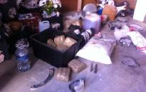 FILE: In two separate drug busts, officials seized tik and Mandrax packages worth over R10,000. Picture: Matshidiso Madia/EWN.