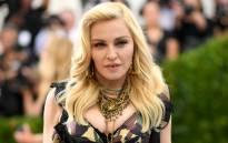 US pop singer Madonna. Picture: AFP