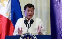 Philippine President Rodrigo Duterte. Picture: Facebook