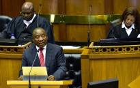 FILE: President Cyril Ramaphosa in the National Assembly. Picture: GCIS