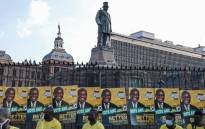The ANC launched its 2021 local government elections at Church Square in Tshwane on 27 September 2021. Picture: Abigail Javier/Eyewitness News