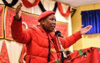 Julius Malema addressed the women of Springbok in the Nothern Cape on Women's Day. Picture: @EFFSouthAfrica/Twitter.
