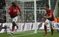 Manchester United's Romelu Lukaku and Ander Herrera celebrate a goal. Picture: @AnderHerrera/Twitter