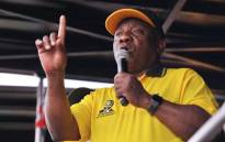 ANC president Cyril Ramaphosa on the campaign trail in Ekurhuleni on 28 September 2021. Picture: @MbalulaFikile/Twitter