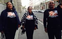 The Nurse family arrives at the Western Cape High Court for the sentencing proceedings of a Lavender Hill woman convicted of kidnapping Zephany Nurse in 1997. Picture: Shamiela Fisher/EWN.