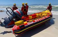 An NSRI rescue team prepares to launch its search for a missing lifeguard at Muizenberg beach on 29 November 2020. Picture: Supplied
