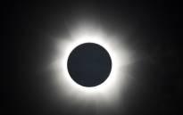 FILE: A solar eclipse. Picture: AFP