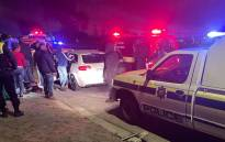 Police and paramedic services at the scene of a shooting in Montclair, Mitchells Plain on 16 October 2021. Picture: Supplied