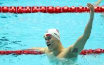 China's Sun Yang celebrates his victory in the 200m freestyle event at the FINA World Championships on 23 July in Gwangju, South Korea. Picture: @fina1908/Twitter