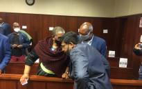 Zandiel Gumede appeared in the Durban Commercial Crimes Court on Thursday 10 September 2020, where the matter was postponed to 10 December for the State to complete its forensic audit report on the case. Picture: Nkosikhona Duma/EWN