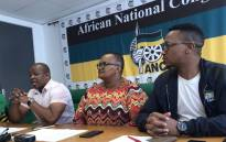 The ANC caucus in Cape Town held a press briefing on Tuesday, 13 November 2018, saying it rejects the new mayoral committee of Cape Town. Picture: Kaylynn Palm/EWN
