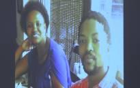 Hope and Warona Mark Zinde. Picture: Kgothatso Mogale:EWN