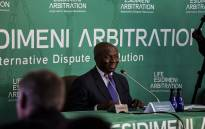 Retired Deputy Chief Justice Dikgang Moseneke delivers the Life Esidimeni report on 18 March 2018. Picture: Kayleen Morgan/EWN