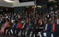 A screengrab of members of political parties attending an IEC briefing on the upcoming general elections in Midrand on 10 January 2019.
