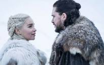 Kit Harington And Emilia Clarke star as Jon Snow and Daenerys Targaryen in HBO's 'Game of Thrones'. Picture: HBO