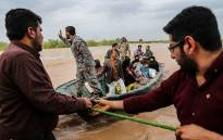 Iran moved on Saturday to evacuate more towns and villages threatened by floods. Picture: Twitter.