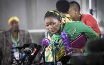 "ANCWL President Bathabile Dlamini says that Nkosazana Dlamini Zuma was reduced to a ""president's ex-wife"" as opposed to being recognised as a candidate like the male politicians who were running for ANC's top spot. Picture: Thomas Holder/EWN."