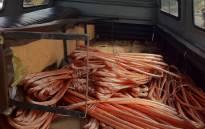 FILE: Copper cable. Picture: EWN