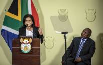 President Cyril Ramaphosa announces new NDPP Shamila Batohi at the Union Buildings in Pretoria on 4 December 2018. Picture: Thomas Holder/EWN