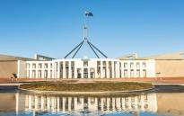 Australia's Parliament House. Picture: Google Earth.