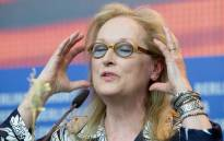 US actress and Jury President Meryl Streep, attends a press conference for 'International Jury' at the 66th annual Berlin International Film Festival, in Berlin, Germany, 11 February 2016. The 'Berlinale' runs from 11 to 21 February. Picture: EPA/KAY NIERTFELD.