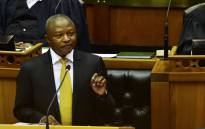 Deputy President David Mabuza answering questions at the National Assembly. Picture: @SAgovnews/Twitter.