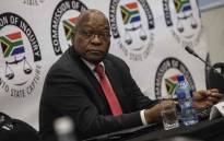 Former President Jacob Zuma at the state capture commission on 15 July 2019. Picture: Abigail Javier/EWN