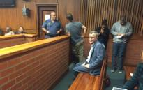 Costa Panayiotou, Christopher Panayiotou's father, in court during his son's appearance on 20 May 2015. Picture: EWN.